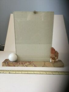 French Art Deco Marble Picture Holder, detachable photo frame 180 x 240 cm