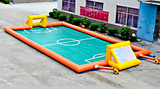 60x30 Commercial Inflatable Soccer Field Sports Arena Ball Game Bounce Slide