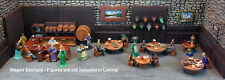 Painted & Loaded Tavern Tables Set 1 - Works with Dwarven Forge and DnD D&D
