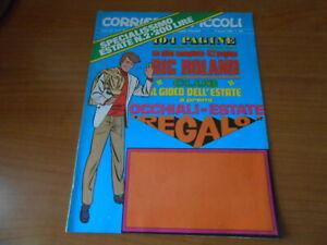 rivista a fumetti-CORRIERE DEI PICCOLI n.31-1969-RIC ROLAND