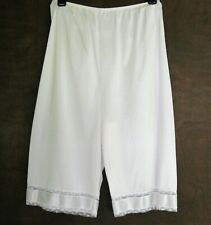 Adonna Jc Penney Womens White Bloomers Pantaloons Petti Pants Medium