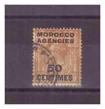 MAROC ZONE FRANCAISE  .  N° 17   .50  c  SUR    5 P       OBLITERE.   SUPERBE