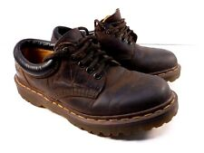 Vtg Dr Marten Brown Leather Lace Up Tie Oxford GUC Size UK7, US 8 made in UK