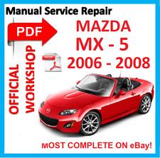 MANUALE OFFICINA UFFICIALE # servizio di riparazione per Mazda Miata MX-5 SPORT 2006-2008