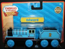 EDWARD with Tender - Thomas Wooden Railway Train Tank Engine - BRAND NEW IN BOX