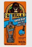 Gorilla Super Glue MICRO PRECISE All-Purpose 5g Impact Tough 10 Sec Set Time NEW