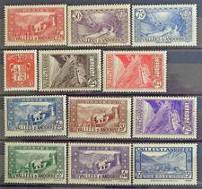 ANDORRA - ANDORRE, französische Post: Postfrische ** aus 1939-1942