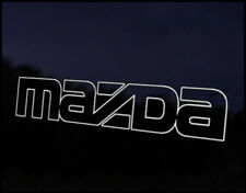 Mazda Outline Style Car Decal Sticker JDM Vehicle Bike Bumper Graphic Funny