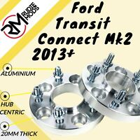 Ford Transit Connect Mk2 2013 on 5x108 20mm Hubcentric wheel spacers UK MADE