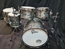 Gretsch Brooklyn Drumset Grey Oyster USA Schlagzeug