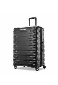 Samsonite Prisma Hardside 4 Wheel Spinner Case Black Capacity: 123.5/137.7 L