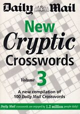 Daily Mail New Cryptic Crosswords vol 3 BRAND NEW BOOK (Paperback 2007)