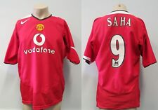 Manchester United 2004-06 home shirt Saha 9 Nike size XL
