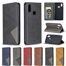 Prismatic Magnetic Leather Case Wallet Flip Antislip Hot Cover For Various Phone