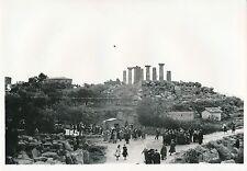 GIRGENTI c. 1935 - Le Temple d'Hercule  Sicile  Italie - DIV 6572