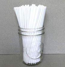"6"" Plastic White Cake Pop Sticks, White Sucker Sticks, 6"" White Lollipop Sticks"