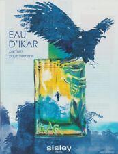 PUBLICITÉ PAPIER -  ADVERTISING PAPER EAU D'IKAR DE SISLEY