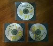 LOT OF 3 LANGUAGE ARTS CDS SWITCHED ON SCHOOLHOUSE 10TH 2002 CHRISTIAN