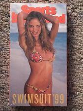 SPORTS ILLUSTRATED SWIMSUIT '99 NEW VHS 1999 HEIDI KLUM, EVA HERZIGOVA SEALED!