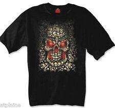 T-Shirt MC SKULLS - Taille XL - Style BIKER HARLEY