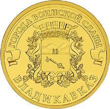 RUSIA RUSSIA 2011. 10 RUBLOS UNC SC. VLADIKAVKAZ