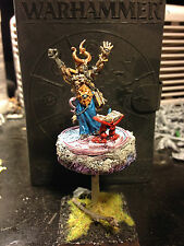 Warhammer Warriors of Chaos Lord, Sorcerer or Champion of Tzeentch Gamesday