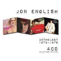 JON ENGLISH Anthology 1973-1976 4CD NEW Wine Dark Sea/Game/Hollywood/Minutes To