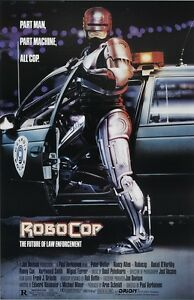 Robocop movie poster print - Peter Weller poster - 11 x 17 inches
