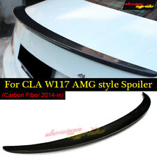 2013-2018 for Mercedes Benz CLA-Class W117 AMG Style carbon fiber Trunk Spoile