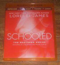 SCHOOLED The Mastered Series by Lorelei James (2014 MP3-CD) Unabridged *UNUSED*