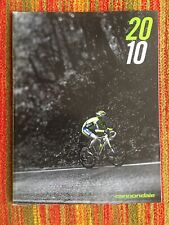 2010 CANNONDALE Catalog CAAD9 Slice BAD BOY Lefty HEADSHOK Supersix ZIPP WHEEL