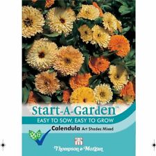 Thompson & Morgan - Start-A-Garden Calendula Art Shades Mixed - 100 Seed