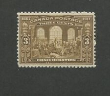 Canada 1917 Fathers of Confederation by Robert Harris 3c Stamp #135 CV $140