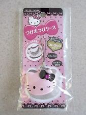 NEW Sanrio Pink Hello Kitty Cosmetic Case w/ Strap for Small Accessories Japan