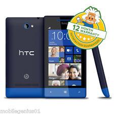 HTC WINDOWS PHONE 8S SMARTPHONE (UNLOCKED) BLUE TOUCHSCREEN 3G GRADE B