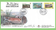Brunei 1991 Fish set on First Day Cover