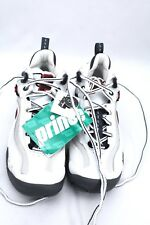 PRINCE NFS EXCELERATOR II 1.4 WHITE/CHAR/RED ATHLETIC SHOES MENS 7D NWOB
