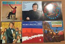 Lot of 6 original Herb Alpert Tijuana Brass Classic LPs in Near Mint condition