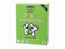 HAPPY FEET Onesy Foot Patches 10 Pack / 5 Pairs ( Detox )