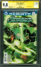 Green Lantern 3 CGC SS 9.8 Lupacchino Jessica Cruz Variant Cover 2016