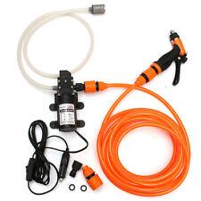 12V High Pressure Car Electric Washer Cleaner Water Wash Hose Pump Sprayer Kits