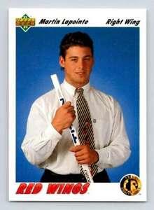1991-92 Upper Deck Hockey Singles #1-350 (You Pick) $0.99 each Buy 1,Get 2 FREE!