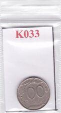 K033 Moneta Coin ITALIA 100 LIRE 1993 Italia Turrita Repubblica Italiana