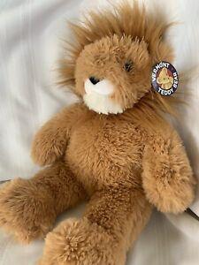"* Brand New* Vermont Teddy Bear Lion Plush 20"" Super soft Stuffed Animal"