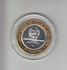 PLANET HOLLYWOOD CASINO .999 FINE SILVER LIMITED EDITION GAMING TOKEN