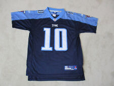 Reebok Vince Young Tennessee Titans Football Jersey Youth Large Blue Kids  Boys   f374d4810