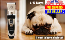 Rechargeable Cordless Dog Hair Clipper with Grooming Kit for House Animals
