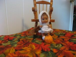 "PILGRIM GIRL DRESS SET FOR KRISSY OR SIMILAR SIZED 2 1/4"" DOLL"