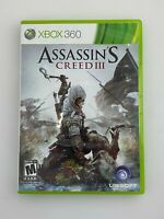 Assassin's Creed III - Xbox 360 Game - Tested
