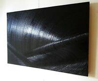 Tableau, peinture huile sur bois, contemporain, abstrait, format 63/47 cm